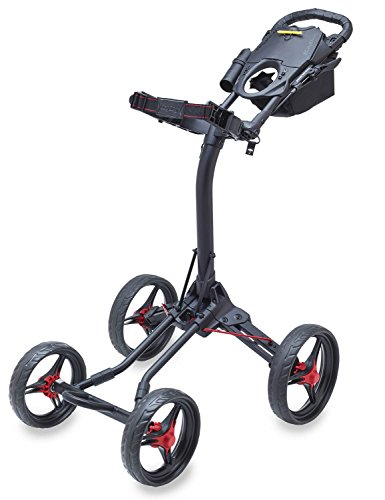 Bag Boy Quad XL Golf Cart One Size Matt Black/Red