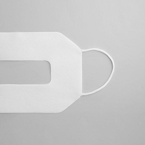 MoguraVR Ninja Mask NM-002 Masque d'Hygiène Casque VR Réalité Virtuelle HTC Vive Oculus Rift PSVR Gear VR WindowsMR [Lot de 100 Masques]