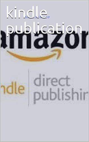 Couverture du livre kindle publication