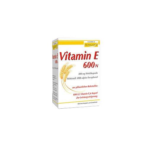 Vitamin E 600 N Weichkapseln 100 stk