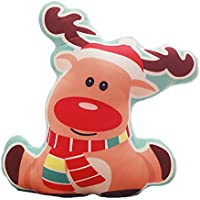 Dosige Almohada de la serie de Navidad,Regalo de navidad,Juguetes de peluche,