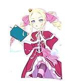 Lepilo Anime Re - Zero Kara Hajimeru Isekai Seikatsu Throw Pillow Cover Custom Zippered Rectangle Pillow Case (20x30 inch, CLW-8)