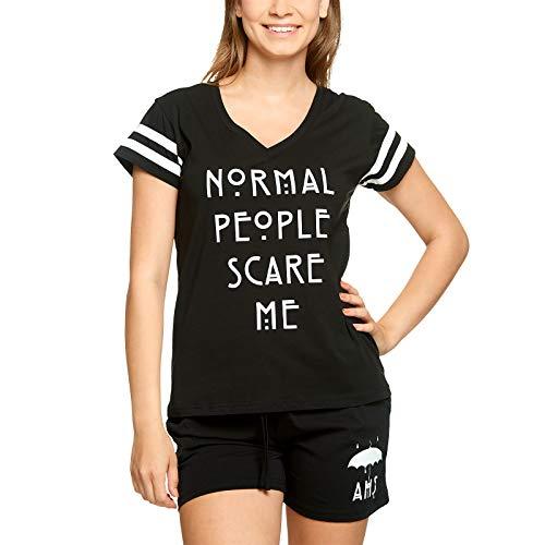 American Horror Story Pijamas Elbenwald 2pcs Pentagram Negro - L
