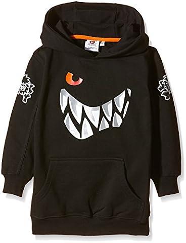 Die Wilden Kerle Kinder Sweat-Shirt Grins Logo, schwarz, 128, 3500-041