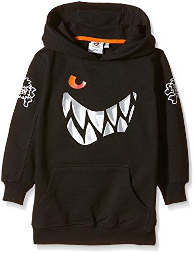 Die Wilden Kerle Kinder Sweat-Shirt Grins Logo, schwarz, 140, 3500-041