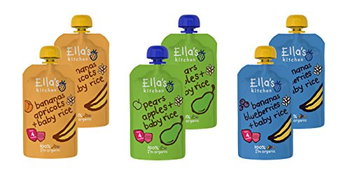 Ella's Kitchen Mixed Case Selections Stage 1, 2, 3 & Smoothie