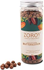 Zoroy Luxury Chocolate Butterscotch kernels Dipped in Pure Belgian Chocolate