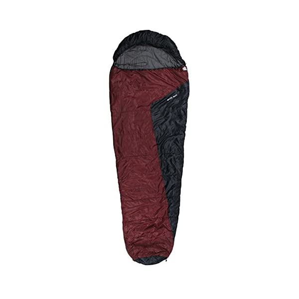 10T Miegmaišis ARCTIC SUN -16° šiltas ir lengvas 1700g XXL Mumijos tipo 230x85, 300g/m²