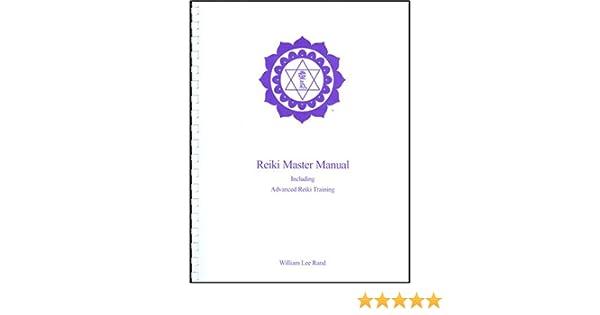 William Rand Reiki Master Manual Owners Manual Book