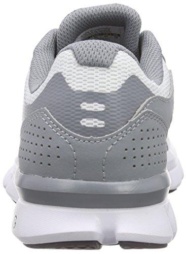 Under Armour UA W Micro G Speed Swift, Chaussures de Course Femme, Gris, UK Gris - Grey (STL/WHT/STL 36)