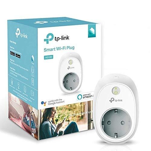 TP-Link HS100 - Enchufe inteligente para controlar sus dispositivos desde cualquier lugar,...