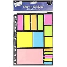 Varios Memo pegatinas notas banderas índice Tab marcador etiqueta Post It Adhesivo Set