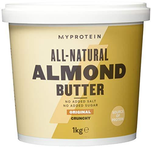 Myprotein Almond Butter Crunchy, 1er Pack (1 x 1 kg)
