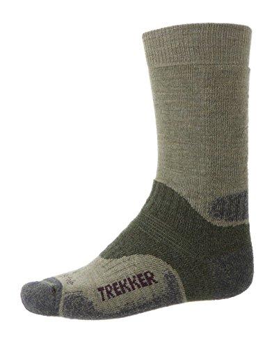 Bridgedale Herren Woolfusion® Trekker Socken, Braun, XL (Bridgedale Trekker Socke)