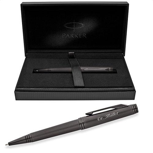 PARKER Kugelschreiber PREMIER Monochrome Black S0924790 mit persönlicher Laser-Gravur
