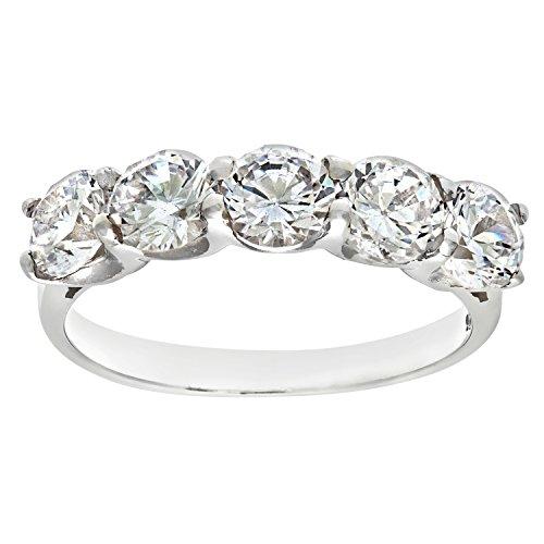 Damen-Ring Silber Gr. 63 (20,1) 19 Zirkonia DPR3598H