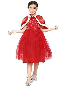 Katara Winter Prinzessin Kostüm-Kleid für Mädchen