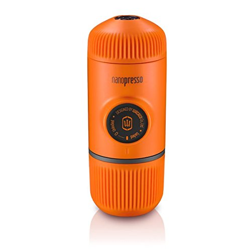 Wacaco Mini Portable Espresso Maker Manual Coffee Maker Nanopresso (Orange)