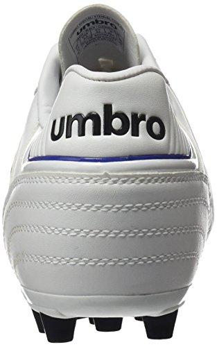 Umbro Umbro Speciali Eternal Club AG–Bota per uomo, colore: bianco/nero/Clematis Blu Blanco / Negro / Clematis Azul