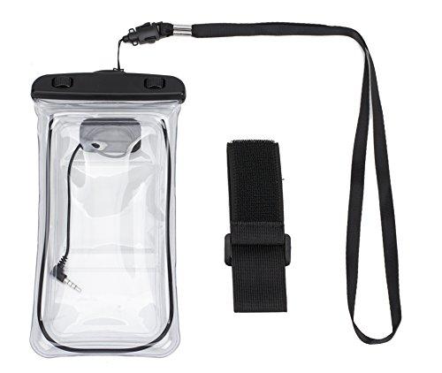 ALLCAMP Dry Bag Tasche für Apple iPhone 6 plus, 6 s plus, 5 / 5s / 5c, Samsung Galaxy S8 S7 Rand, S6 Rand, S5, S4, Hinweis 4 für Handy (schwarz) (5 S Telefon Fällen Iphone)