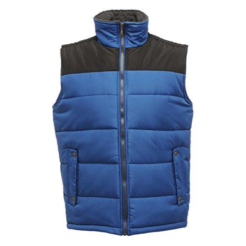 Regatta Mens Altoona Quilted Insulated Fleece Collar Gilet Bodywarmer Royal