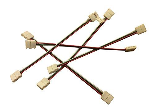 5x WS2811LED SMD Conector Rápido Cable Connector Adapter 3PIN Conector para WS2811/12B 10mm rayas