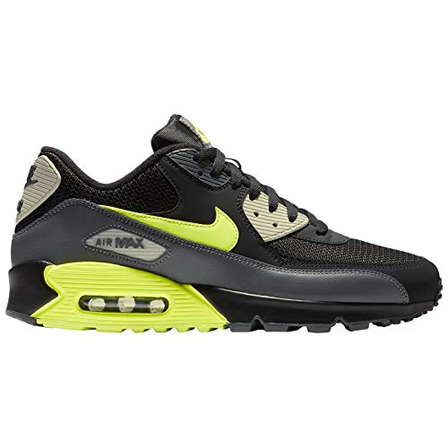 the latest 97214 9596e Nike Air MAX 90 Essential, Zapatillas de Gimnasia para Hombre, Gris (Dark  Grey