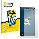 2x BROTECT Matte Protector Pantalla para Alcatel One Touch Idol 6030X OT-6030X Protector Mate, Película Antireflejos