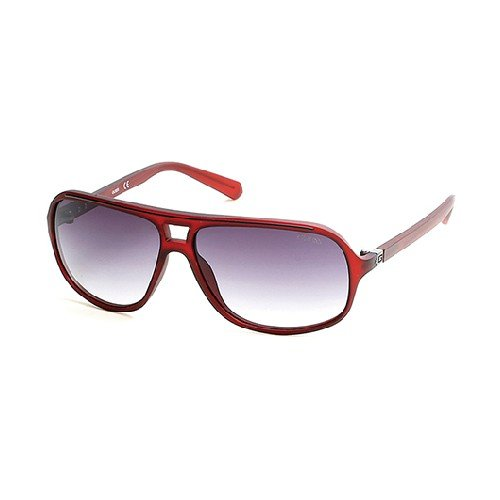 Guess GU6877 C64 67B (matte red / gradient smoke) Sonnenbrillen