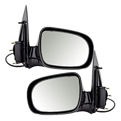 Driver and Passenger Power Side View Mirrors Replacement for Chevrolet