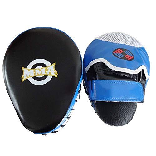 SJF Mitones de perforación punzonados, Almohadillas de Mano de Entrenamiento Que absorben los Golpes, adecuados para el Boxeo, Karate, MMA, Muay Thai, Taekwondo, Dojo, UFC, Artes Marciales