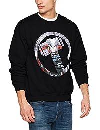 Marvel Avengers Thor Montage Symbol Mens, Sweat-Shirt Homme