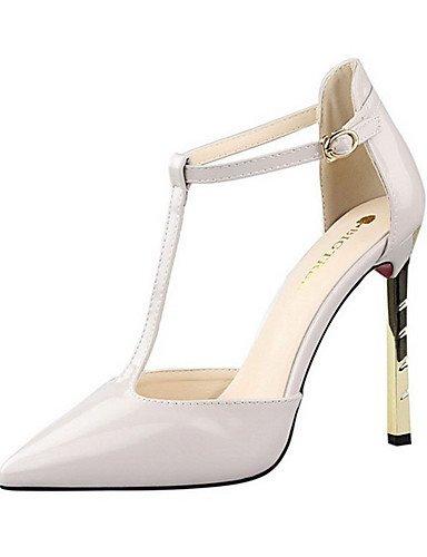 WSS 2016 Chaussures Femme-Décontracté-Noir / Violet / Blanc / Gris / Nu-Talon Aiguille-Talons-Talons-Polyuréthane nude-us6.5-7 / eu37 / uk4.5-5 / cn37