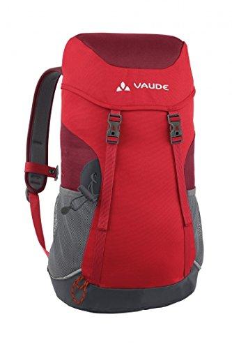 Imagen de vaude pecki 14  macuto de senderismo color energetic red, talla 14l