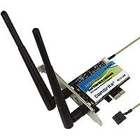 combrite Dual Band Wi-Fi adattatore scheda PCI Express PCI-E 802.11abgn Combo 2x 2Wifi + Bluetooth (Dual Band Wireless Desktop Antenna)