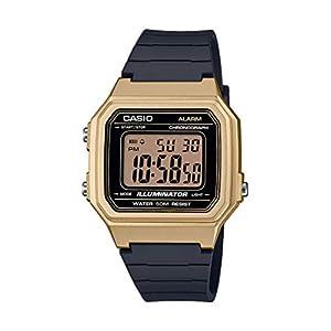 Casio W-217HM – Reloj Digital de Cuarzo para Hombre con Pulsera de Resina