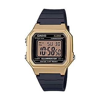 Casio Reloj Digital para Hombre de Cuarzo con Correa en Resina W-217HM-9AVEF
