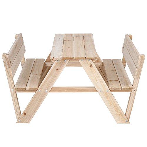 Tavolo Con Panca Per Esterno.Infantastic Tavolino Tavolo Da Pic Nic Giardino Esterno Bambini Set