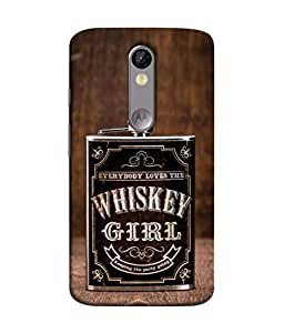 Digiarts Designer Back Case Cover for Motorola Moto X Force, Motorola Moto X Force Dual SIM (Saying Quotation Teaching Learn)