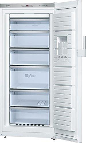 Bosch Serie 6 GSN51AW31 Autonome Droit 286L A++ Blanc congélateur - Congélateurs (Droit, 286 L, 22 kg/24h, SN-T, Système anti-gel, A++)