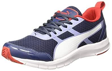 Puma Men's Sargasso Sea-Infinity-High Risk Red Sneakers-6 UK/India (39 EU) (4059507918482)