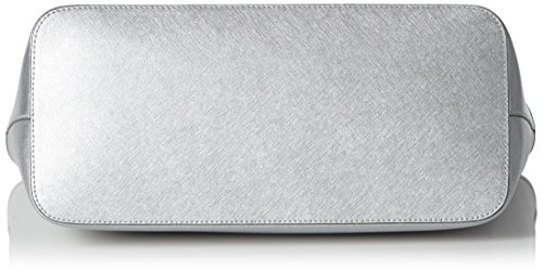 Michael Kors - Jet Set Travel Chain Top-zip Multifunctional, Borsa a spalla Donna Argento (Silver)