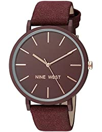 Nine West Quartz Movement Analogue Red Dial Women's Watch - NW/2066BYRG