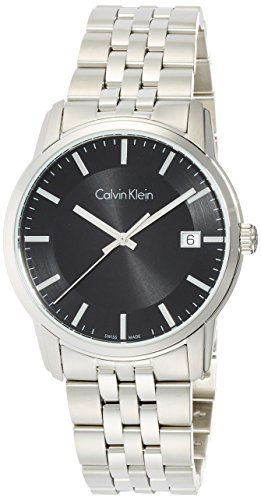 Calvin Klein Men's Digital Quartz Watch with Stainless Steel Strap K5S31141