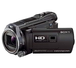 SONY Camcorder HDR-PJ650VE High Definition + Lithium-Akku NP-FV50 + Fototasche Größe M + Speicherkarte SDHC 8 GB Class 10