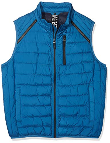 s.Oliver Big Size Herren 28.808.53.4762 Outdoor Weste, Blau (Blue 5435), XX-Large (Tall Herren Winter And Big Weste)