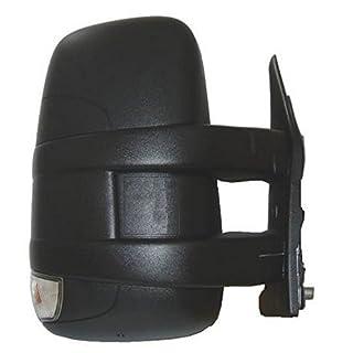 Rückspiegel rechts kurze Arm manuell schwarz mit Schlußlicht von 2006bis 2011