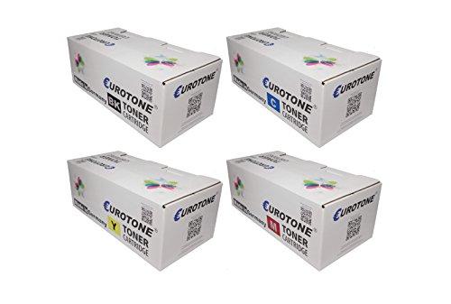 Preisvergleich Produktbild Eurotone Print Cartridge für Brother DCP 9040 / 9042 / 9045 / MFC 9440 / 9450 / 9840 Serien - ersetzen TN-130 / 135 BK, C, Y, M Patronen im Spar Set - kompatible Premium Kit Alternative - non oem