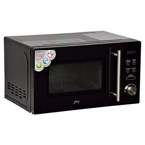 Godrej 20 ltr Grill Microwave Oven - GMX 20GA9 PLM 20L BLACK