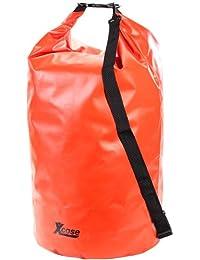 Xcase Wasserdichte Tasche: Wasserdichter Packsack 70 Liter, rot (Outdoor Packsack)